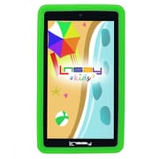 "LINSAY F7XHDKIDSGREEN 7"" Quad Core Tablet w/ Green Kids Defender Case Android"