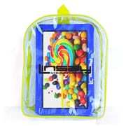 """LINSAY F10XHDKIDSBAGB 10"""" Quad Core Tablet w/ Blue Kids Defender Case and Bag Pack Android"""