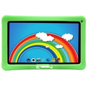 "LINSAY F10XHDKIDSGREEN 10"" Quad Core Tablet w/ Green Kids Defender Case Android"