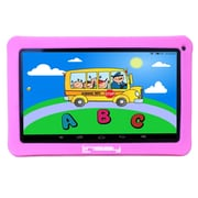 "LINSAY F10XHDKIDSPINK 10"" Quad Core Tablet w/ Pink Kids Defender Case Android"