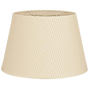 RoyalDesigns Timeless Tapered 16'' Shantung Empire Lamp Shade