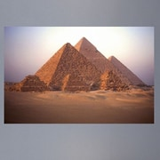 Wallhogs Great Pyramids Glossy Poster; 31'' H x 48'' W