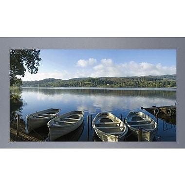 Wallhogs Serene Lake Glossy Poster; 33'' H x 60'' W