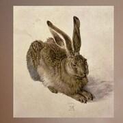 Wallhogs Durer ''Hare'' (1502) Glossy Poster; 36'' H x 32.5'' W