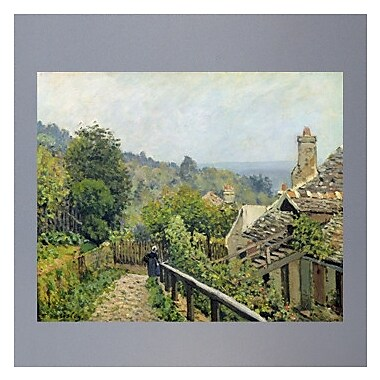 Wallhogs Sisley ''Louveciennes or, the Heights at Marly'' (1873) Glossy Poster; 29'' H x 36'' W