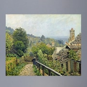 Wallhogs Sisley ''Louveciennes or, the Heights at Marly'' (1873) Glossy Poster; 39'' H x 48'' W