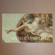Wallhogs Sim ''Michelangelo God'' Glossy Poster; 20.5'' H x 36'' W