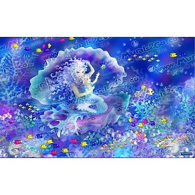 Wallhogs Mermaid Glossy Poster; 44.5'' H x 72'' W