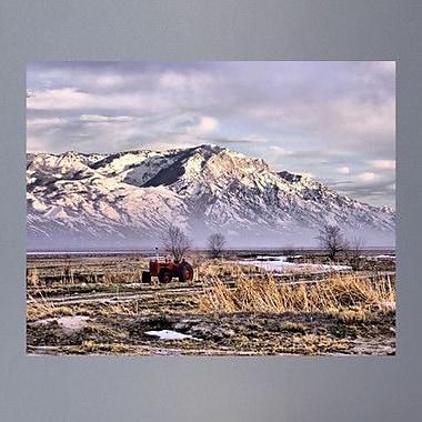 Wallhogs Batie's Rocky Mountain Tractor Glossy Poster; 38.5'' H x 48'' W