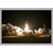 Wallhogs Space Shuttle Launch Glossy Poster; 16'' H x 24'' W