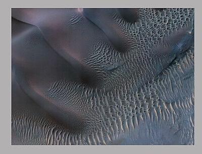 Wallhogs Surface of Mars II Glossy Poster; 27'' H x 36'' W