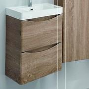 Orren Ellis Genevieve Modern 24'' Single-Hole Bathroom Vanity Set