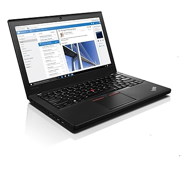 Lenovo – ThinkPad X260 20F60093US Ultrabook 12,5 po, Intel Core i5-6300U 2,4 GHz, SSD 256 Go, SDRAM DDR4 8 Go, Win. 7 Pro