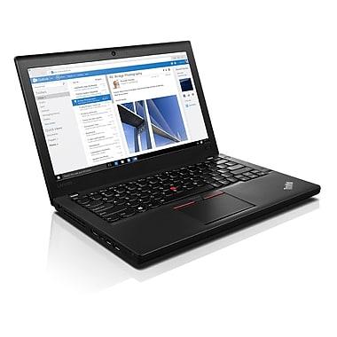 Lenovo – ThinkPad X260 20F60093CA Ultrabook 12,5 po, Intel Core i5-6300U 2,4 GHz, SSD 256 Go, DDR4 8 Go, Win. 7 Pro, français