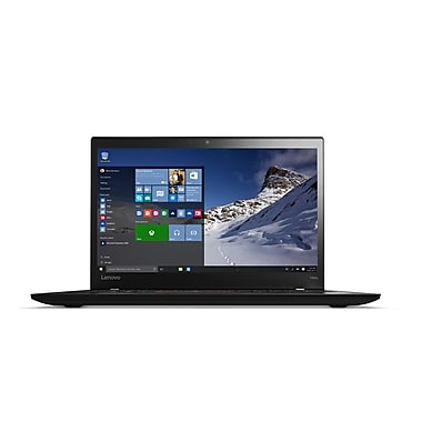 Lenovo – ThinkPad T460S 20F9003EUS Netbook 14 po, Intel Core i5-6300U 2,4 GHz, SSD 128 Go, SDRAM DDR4 8 Go, Windows 7 Pro