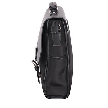 Gino Ferrari – Malette pour portatif Saturn, garniture en cuir, 16 po