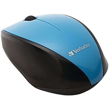 Verbatim Wireless Notebook Multi-Trac Blue LED Mouse, Blue (97993)