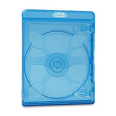 Verbatim – Boîtier pour Blu-ray et DVD, bleu, 30/paquet (32856X)