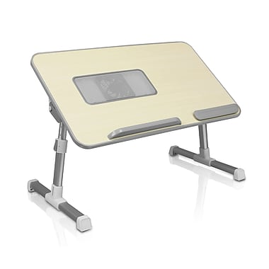Aluratek - Table ajustable pour portative, avec ventilateur (ACT01F)