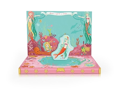 Music Box Card, Mermaid, 6.75