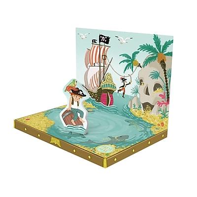 Music Box Card, Pirates, 6.75