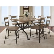 Hillsdale Charleston 7 Piece Counter Height Dining Set