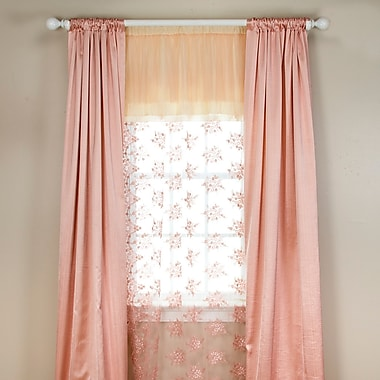 Glenna Jean Remember My Love Semi-Opaque Single Curtain Panel