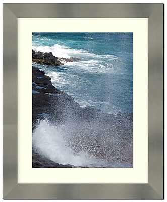 Frames By Mail Stainless Steel Finished 2'' Wide Wall Picture Frame; 16'' x 20''