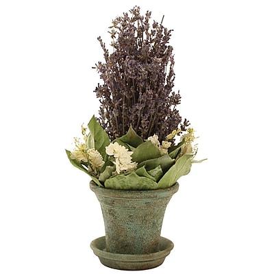 Floral Treasure Lavendula Bouquet Floral Arrangement; 11''