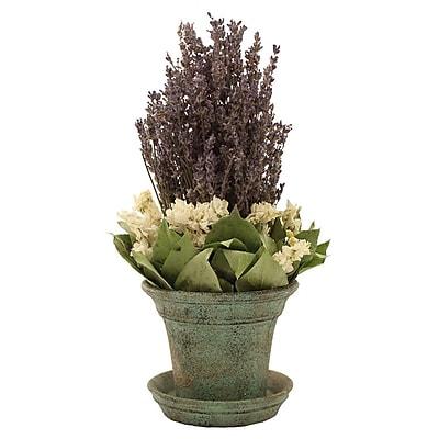 Floral Treasure Lavendula Bouquet Floral Arrangement; 12''