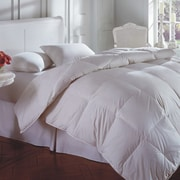Linen Depot Direct Oasis 100pct Cotton Feather and Duck Down Duvet; King