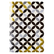 "Erin Condren, Jot Your Thought Journal, 5.75"" x 8.25"", Gold (EC-JYT GLD)"
