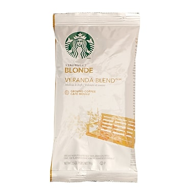 Starbucks® Veranda Blend Blonde Roast Ground Coffee, 18/Pack