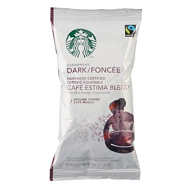 Starbucks® Coffee, Cafe Estima Blend®, 2.5 oz., 18/Case