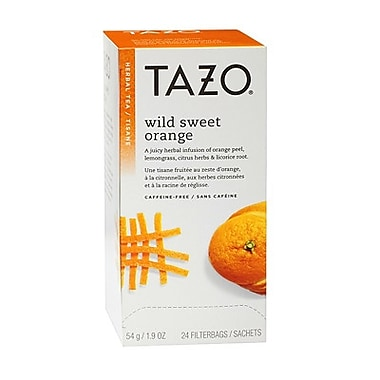 Tazo® – Tisane à l'orange sauvage, pte/24