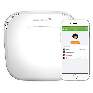 Amped - Routeur Whole Home WiFi intelligent ALLY-R1900, AC1900