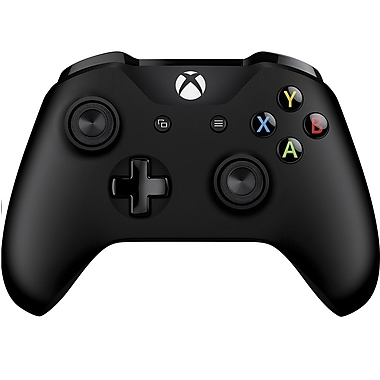 Microsoft – Manette Xbox One et câble pour PC Windows (4N6-00001)