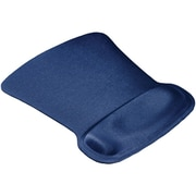 Allsop Ergoprene Gel Mouse Pad with Wrist Rest, Blue (30193)