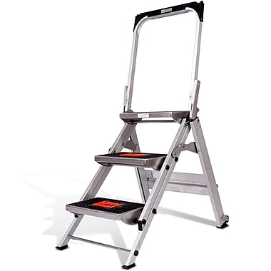 Little Giant – Marchepied Safety Step, 3 marches, aluminium, certifié CSA