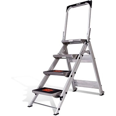 Little Giant – Marchepied Safety Step 4 marches, aluminium