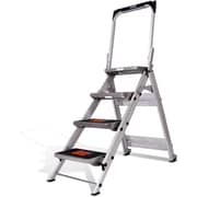 Little Giant Safety Step, 4 Step, Aluminum