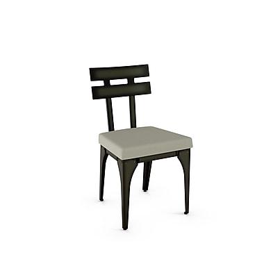 Amisco Knowlton Metal Chair (31662-WE/2B51HOF4), 2/Pack