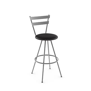 Amisco Valmont Swivel Metal Counter Stool, 26