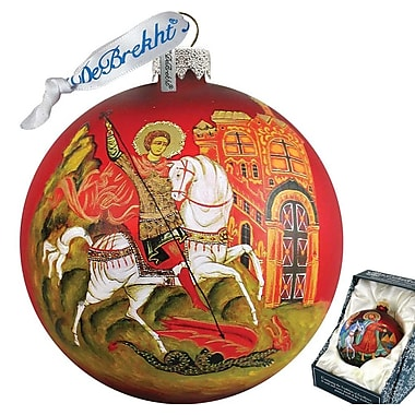 G Debrekht Icon St.George Ball Ornament