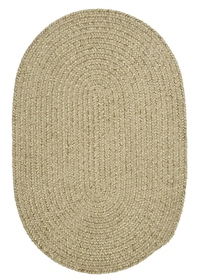 Colonial Mills Spring Meadow Sprout Green Area Rug ; Oval 3' x 5'