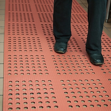 ES Robbins Oil/GreaseProof Drain Mat, Terracotta
