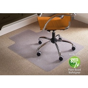 ES Robbins BioBased Chairmat, Lipped LowPile