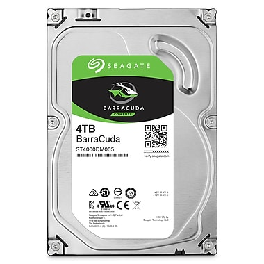 Seagate BarraCuda Desktop Internal Hard Drives, SATA, 6GB/s, 3.5