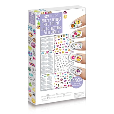 Crayola Creations Sticker Doodle Nail Art