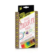 Crayola Art with Edge Coloured FX Pencils, 16/Pack